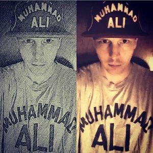 Muhumad Ali adult  adjustable strapback cap